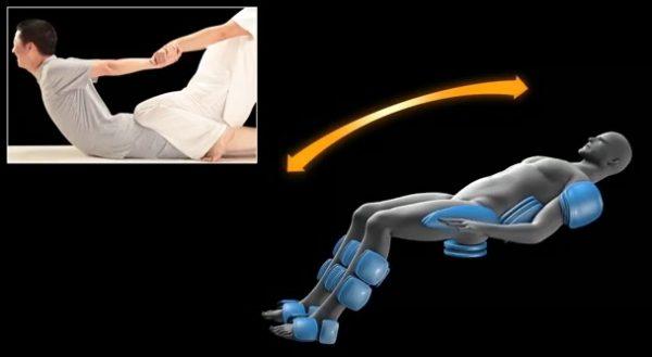 masažna fotelja president top model 3D